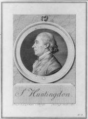 Samuel Huntington-1st President of the U.S. in CongressAssembled